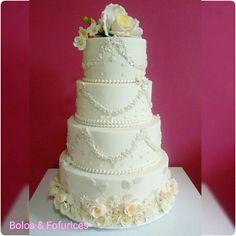 Bolo de Casamento Wedding cakes Flores Flowers