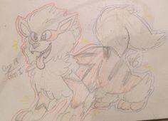 Pokemon challenge day 19: fav Gen I Pokemon! Arcanine! CUTE FLUFFY DOGGO-@catlover201