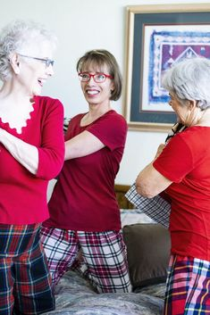 Slumber Party Pjs for Adults and Women over 50 Matching af22f232c