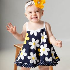 Baby Girl Sewing Pattern - Vintage Style Baby Dress Pattern - Open Back Baby Dress Sewing Pattern PDF - Baby Photos Baby Girl Dress Patterns, Baby Clothes Patterns, Sewing Patterns Girls, Baby Girl Dresses, Baby Boy Outfits, Kids Outfits, Dress Girl, Skirt Patterns, Coat Patterns