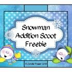 Use this 'Addition Scoot Freebie with a difference' in the frosty months. Your littlies will need to decide whether the sums written on the snowmen are correct or not.