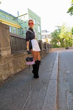 The wardrobe of Ms. B: white  vintage apron