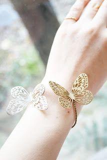 Brazalete de mariposa