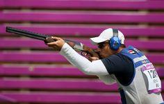 Men's Skeet Shooting - Egyptian Azmy Mehelba