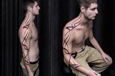 Line Art Tattoo by Chaim Machlev DotsToLines