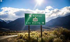 California, Hwy 395, Lake Tahoe, Mammoth Lakes, Death Valley
