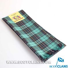Clan MacAlpine Ancient Tartan Scarf