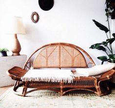 rattan lounge möbel sofa