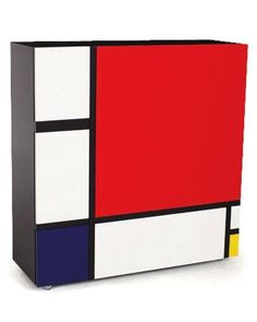 Mondrian inspired ca