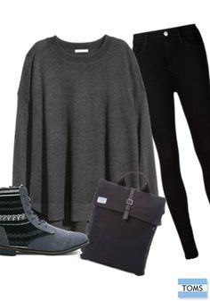 Complete your favorite monochromatic fall outfit with a new pair of TOMS boots.