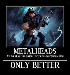 l Too metal for one hand! Heavy Metal Shirts, Heavy Metal Rock, Heavy Metal Bands, Death Metal, Hard Rock, Metallica, Metal Meme, Extreme Metal, Music Memes