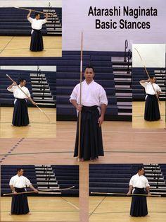 Atarashi Naginata basic stances