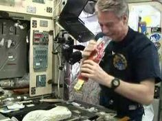 A podcast by ESA regarding space food aboard the International Space Station.