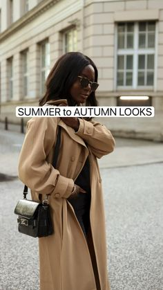 Professional Outfits, Autumn Day, Fall Looks, Street Style Women, Natural Hair Styles, Dress Up, Coat, Womens Fashion, Summer