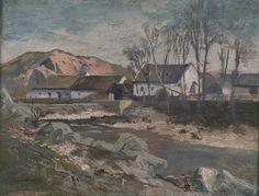 ANTONÍN CHITTUSSI (1847-1891) Mill near Brno Mlýn u Brna (kol. 1885)
