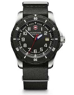 Victorinox Swiss Army Mens Maverick Sport - Black Dial - NATO Strap