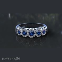 3D Jewelry Design: Engagement Ring, Engagement, Five Stone style [1709-117050] » Jewelrythis