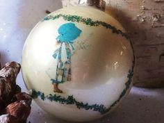 Vintage Holly Hobbie Christmas Tree Ornament by rustbelttreasures, $10.00