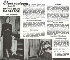 "Found in folder ""Catalogs/Advertisements - Miscellaneous,"" Ephemera Collection (Record Series Seattle Municipal Archives. Steam Radiators, Vintage Advertisements, Ads, 1940s, Advertising, Vintage Ads"