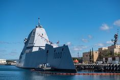 Navy accepted delivery of USS Zumwalt (DDG the lead ship of the Navy's next-generation of multi-mission surface combatants, on April Uss Zumwalt, Small Fishing Boats, Mass Communication, Navy Ships, Pearl Harbor, Aircraft Carrier, Us Navy, First World, April 24