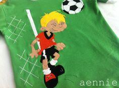 Fußballer auf Shirt - by aennie