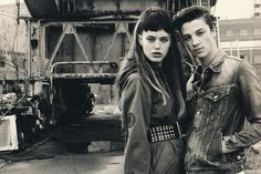 Hysteric Glamour 2010 Spring Editorial in HUGE Magazine