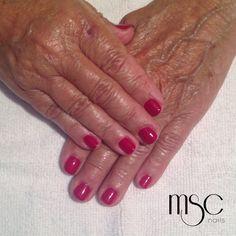 #mscnails #gelpolish #nails #uñas #semilac #esmaltesemi