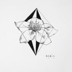#flower#blackandwhite#design#tattoodesign#tattoo#lines#simple#drawing#small#cute#girls#black#lines#white#geometric#geometry#