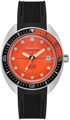 Bulova Watches, Authentic Watches, Beauty Box Subscriptions, Watch Service, Watch Case, Watch Brands, Black Rubber, Sport Fashion, Stainless Steel Case