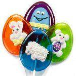 Iced barley Easter pops - Suçons barley de Pâques  #easterlollipops #suconspaques