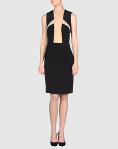 Ana Locking Short dress with illusion netting - $125 on sale - via Yoox