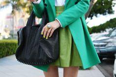 green & green.