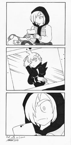 """Pretty much my reaction to seeing Gladion for the first time. """"Wtf Yurio what are you doing here"""""""