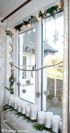 Laura Ashley Blog | TORIE JAYNE'S WINTER WONDERLAND WINDOW | http://blog.lauraashley.com
