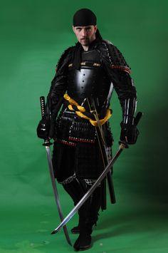 Caucasian Samurai Stock II by PhelanDavion.deviantart.com on @deviantART