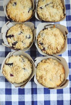 Lavender Blueberry Muffins