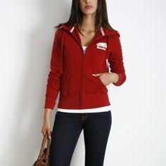 Classic Full Zip   Women's Tops Sweatshirts and Hoodies   Roots  #RootsBacktoSchool