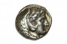 monedas de plata de alejandro magno