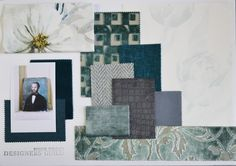 Designers Guild WINTER TEAL moodboard