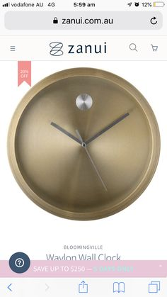 Clocks, Day, Home Decor, Decoration Home, Room Decor, Watches, Clock, Home Interior Design