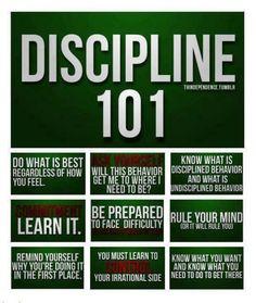 Martial Arts Discipline Quotes | Discipline 101#UMartialArts www.facebook.com/umartialarts