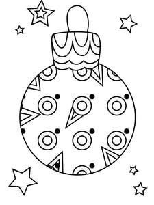 Coloriage boule de Noël guirlande | Coloriage boule de noel, Coloriage noel, Coloriage