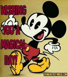 Wishing you a magical day