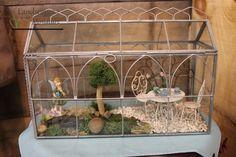 Miniature Fairy Garden Indoor Fairy Gardens, Miniature Fairy Gardens, Mini Gardens, Fairies Garden, Mini Fairy Garden, Terrariums, Terrarium Ideas, Glass Terrarium, Mini Greenhouse
