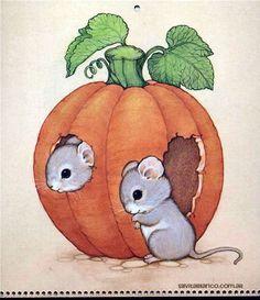 Silvita Blanco Halloween | Ruth Morehead Forest Friends Collection ILUSTRACIONES Tarjetas ...