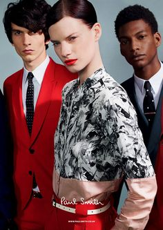 Querelle Jansen for Paul Smith SS 2013 by Paul Smith.