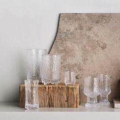 Ultima Thule collection  Design Tapio Wirkkala, 1968 Scandinavia Design, Koti, One Design, Design Awards, Candle Holders, Tableware, Glass, Interior, Inspiration