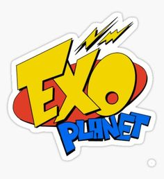 Exo stickers featuring millions of original designs created by independent artists. Exo Stickers, Printable Stickers, Laptop Stickers, Cute Stickers, K Pop, Kpop Exo, Sehun, Exo Lucky One, Kpop Logos