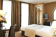 Eiffel Capitol Hotel - REALLY close to the Eiffel tower. Hotel Eiffel Capitol is located in Paris's Gare Montparnasse - Porte de Versailles neighborhood, close to Pont de Bir-Hakeim, Eiffel Tower, and Champ de Mars. Three stars $387 total cost