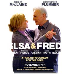 Elsa and Fred is the story of two people who at the end of the road, discover that it's never too late to love and make dreams come true.
